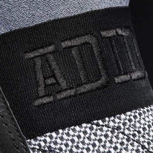 Adidas Cloudfoam Ultra Zen Homme Footwear White/Core Black/Scarlet Natation Chaussures NO: AQ5857