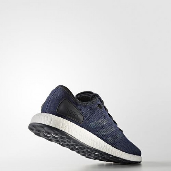 Adidas Pure Boost Homme Night Navy/Core Blue/Mystery Blue Running Chaussures NO: BA8898