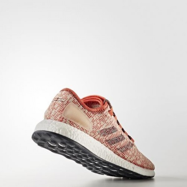 Adidas Pure Boost Clima Homme Easy Coral/Collegiate Navy/Linen Running Chaussures NO: BA9059