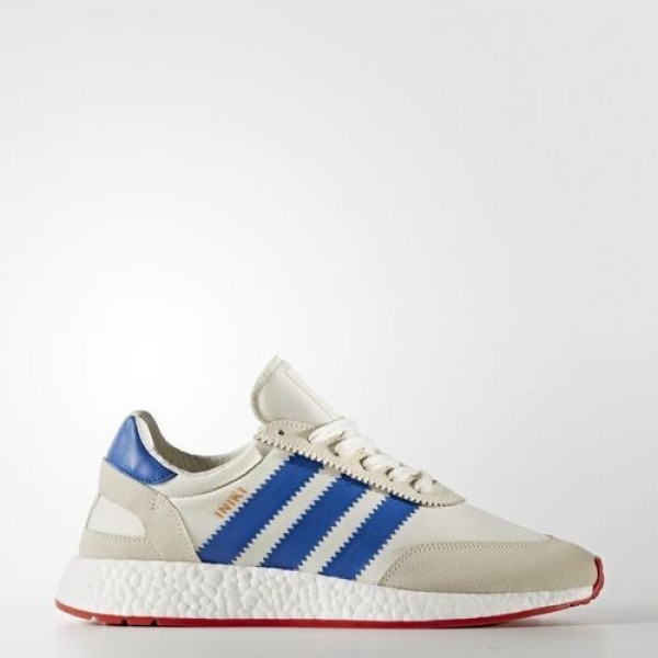 Adidas Iniki Runner Femme Off White/Blue/Core Red Originals Chaussures NO: BB2093