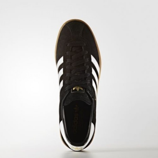 Adidas München Femme Core Black/Footwear White/Gum Originals Chaussures NO: BB5296