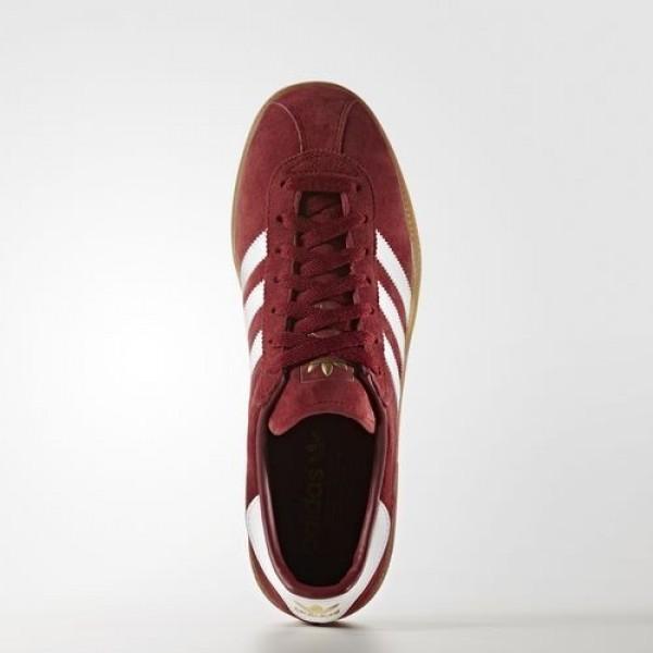 Adidas München Femme Collegiate Burgundy/Footwear White/Gum Originals Chaussures NO: BB2776