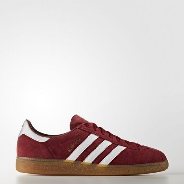 Adidas München Femme Collegiate Burgundy/Footwear...