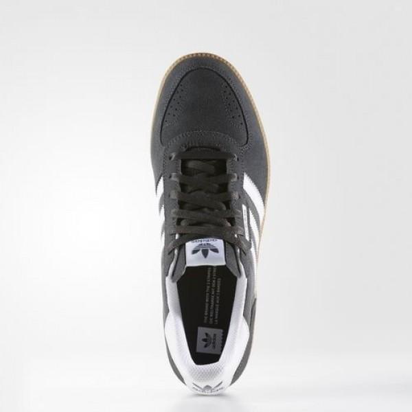 Adidas Leonero Homme Dark Grey Heather Solid Grey/Footwear White/Gum Originals Chaussures NO: BB8532