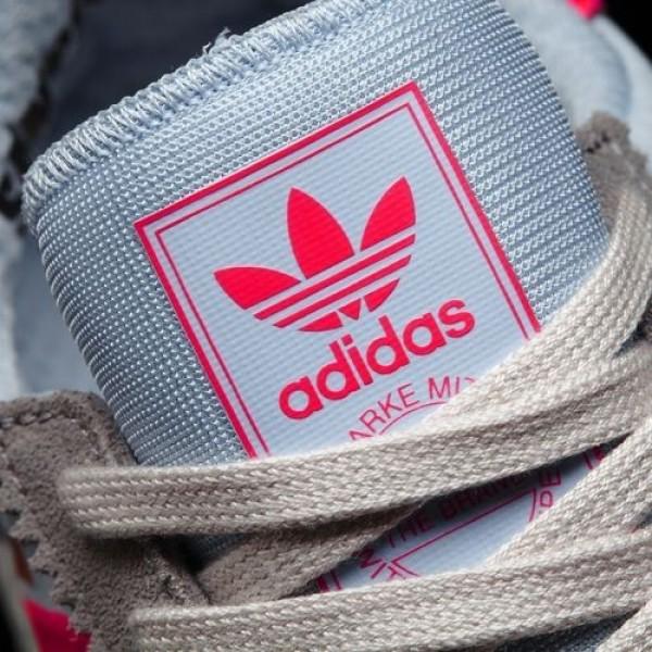 Adidas Iniki Runner Femme Solid Grey/Turbo/Gum Originals Chaussures NO: BB2098