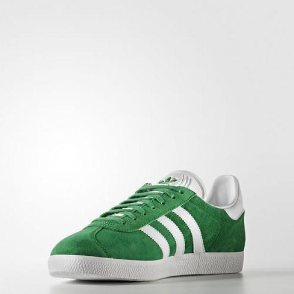 Adidas Gazelle Femme Green/White/Gold Metallic Originals Chaussures NO: BB5477