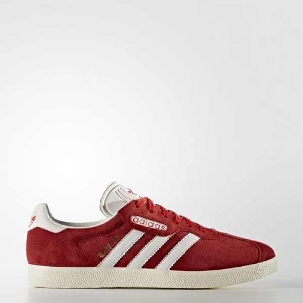 Adidas Gazelle Super Femme Red/Vintage White/Gold ...