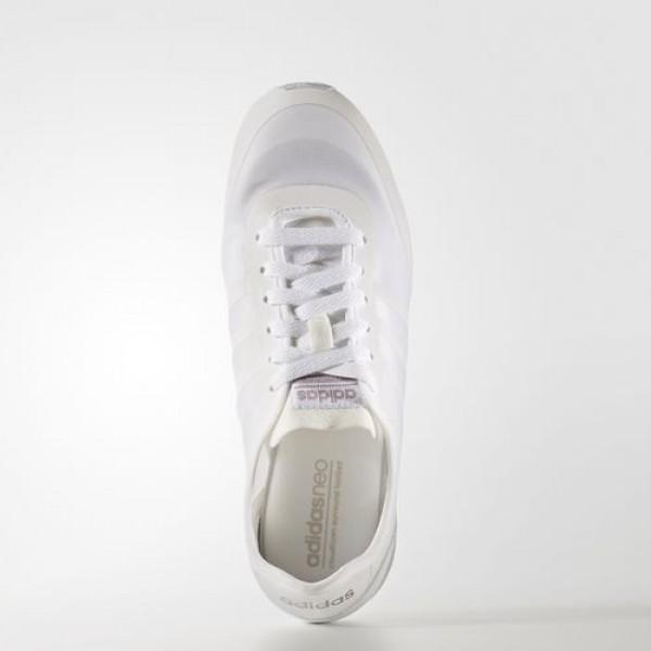 Adidas Cloudfoam Groove Tm Femme Footwear White/Vapour Grey Metallic neo Chaussures NO: B74688