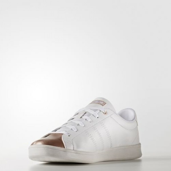 Adidas Advantage Clean Qt Femme Footwear White/Copper Metallic neo Chaussures NO: AW4014