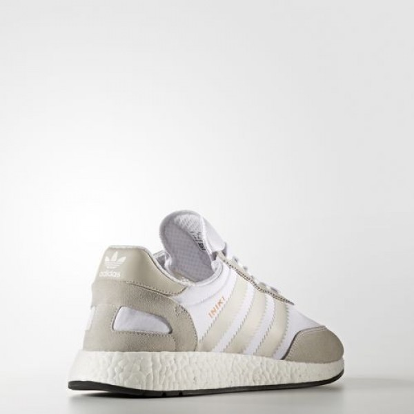 Adidas Iniki Runner Femme Footwear White/Pearl Grey/Core Black Originals Chaussures NO: BB2101