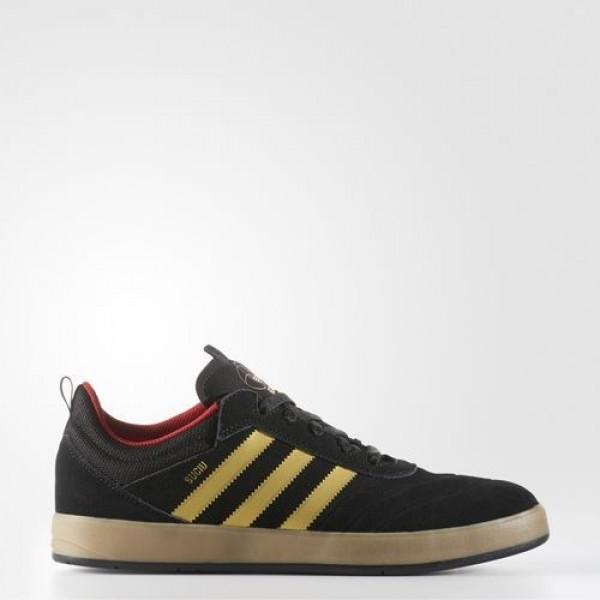 Adidas Suciu Adv Homme Core Black/Gold Foil/Gum Or...