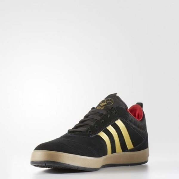 Adidas Suciu Adv Homme Core Black/Gold Foil/Gum Originals Chaussures NO: BB8752