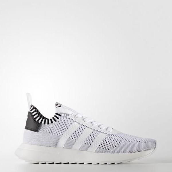 Adidas Flb Primeknit Femme Footwear White/Core Bla...