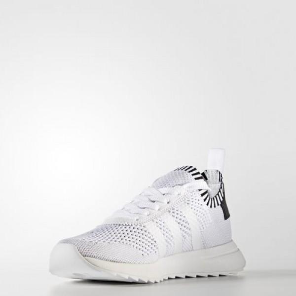 Adidas Flb Primeknit Femme Footwear White/Core Black/Clear Grey Originals Chaussures NO: BY2792