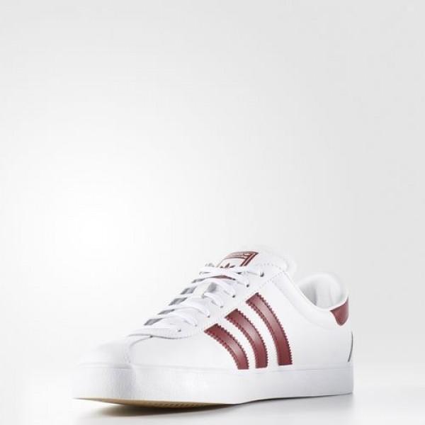 Adidas Skate Adv Homme Footwear White/Collegiate Burgundy/Gum Originals Chaussures NO: BB8711