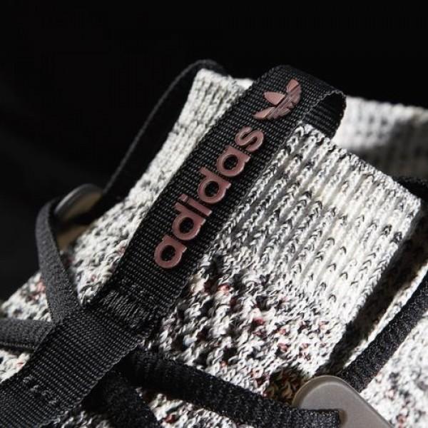 Adidas Tubular Nova Primeknit Gid Femme Clear Brown/Core Black/Mystery Red Originals Chaussures NO: BB8409