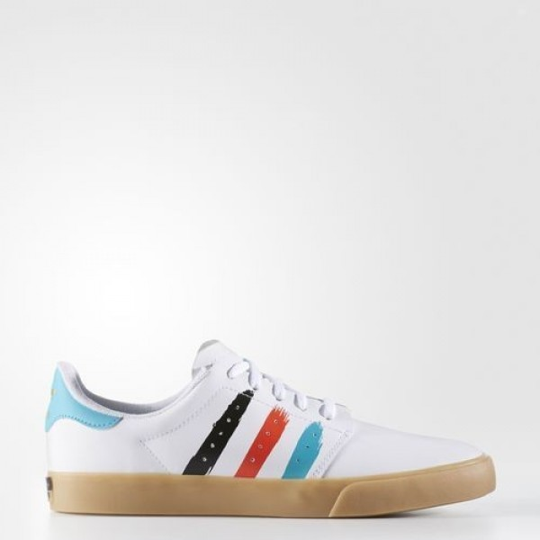 Adidas Seeley Court Homme Footwear White/Energy Bl...