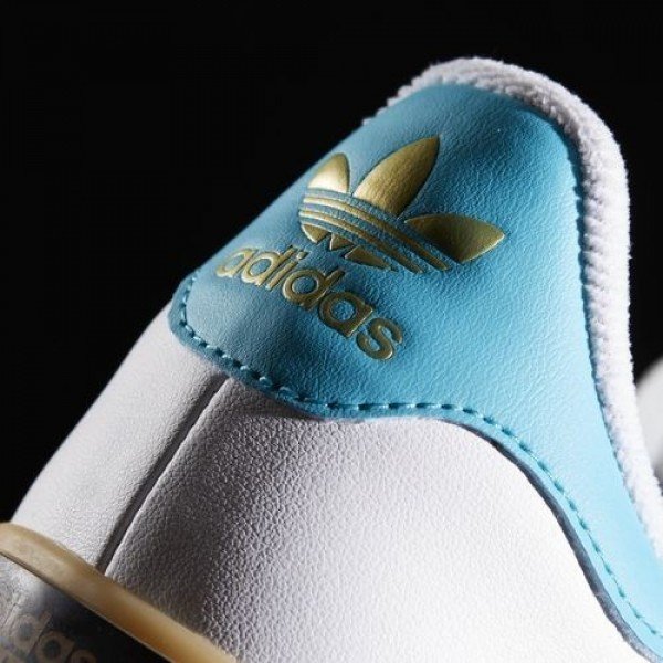 Adidas Seeley Court Homme Footwear White/Energy Blue/Energy Originals Chaussures NO: BW0659