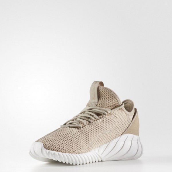 Adidas Tubular Radial Homme Footwear White/Vintage White Originals Chaussures NO: BB2398