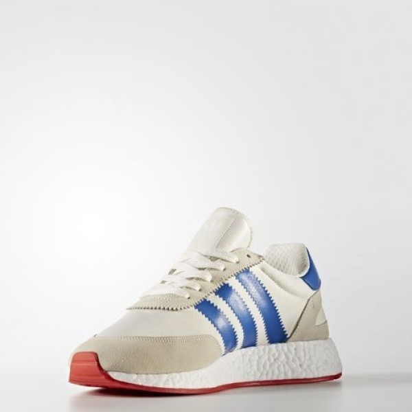 Adidas Iniki Runner Homme Off White/Blue/Core Red Originals Chaussures NO: BB2093
