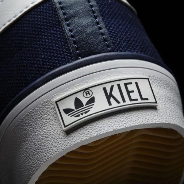 Adidas Kiel Homme Collegiate Navy/Footwear White/Carbon Originals Chaussures NO: D69234