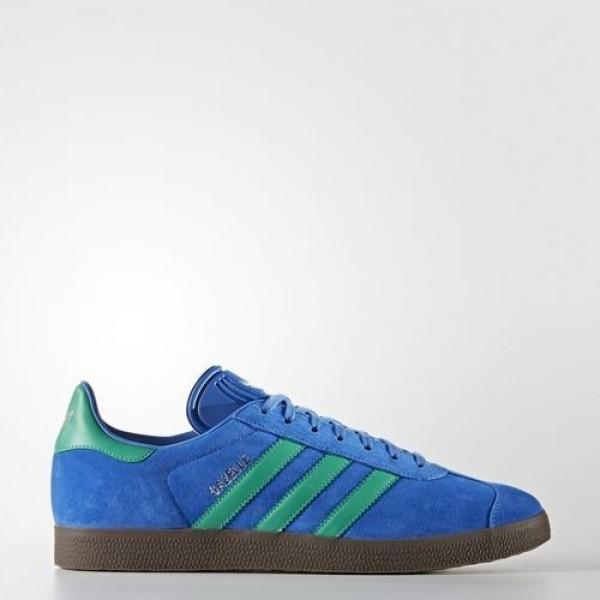 Adidas Gazelle Homme Blue/Core Green/Gum Originals...