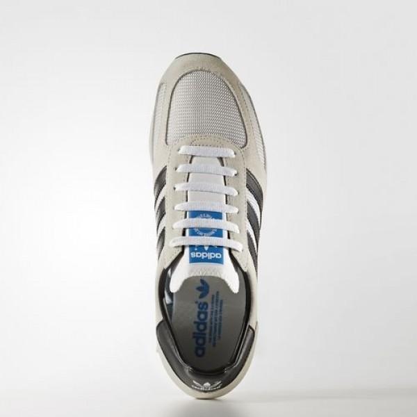 Adidas La Trainer Og Homme Vintage White/Core Black/Clear Brown Originals Chaussures NO: BB1206
