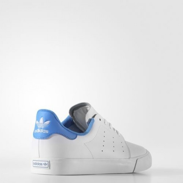 Adidas Seeley Court Homme Footwear White/Bright Blue Originals Chaussures NO: BB8587