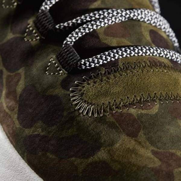 Adidas Tubular Shadow Femme Olive Cargo/Vintage White/Core Black Originals Chaussures NO: BB8818