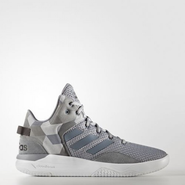 Adidas Cloudfoam Revival Mid Homme Grey/Core Black...