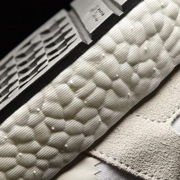 Adidas Iniki Runner Homme Footwear White/Pearl Grey/Core Black Originals Chaussures NO: BB2101