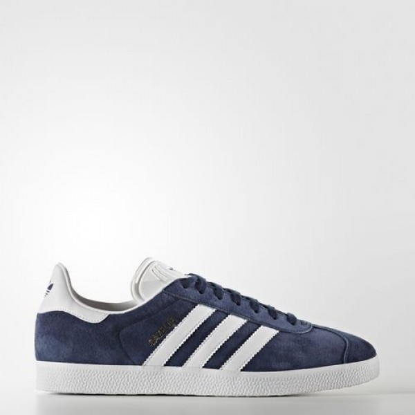 Adidas Gazelle Femme Collegiate Navy/White/Gold Me...