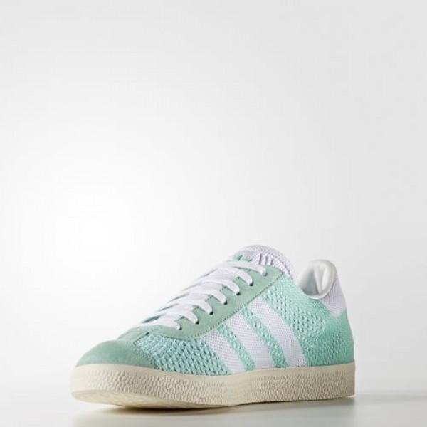 Adidas Gazelle Primeknit Femme Easy Green/Footwear White/Chalk White Originals Chaussures NO: BB5210