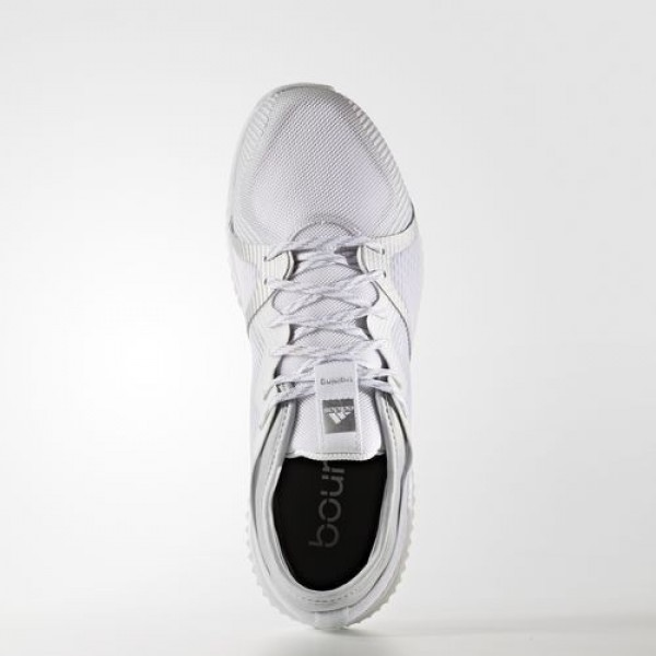 Adidas Crazytrain Pro Femme Footwear White/Silver Metallic/Clear Grey Training Chaussures NO: BB1506