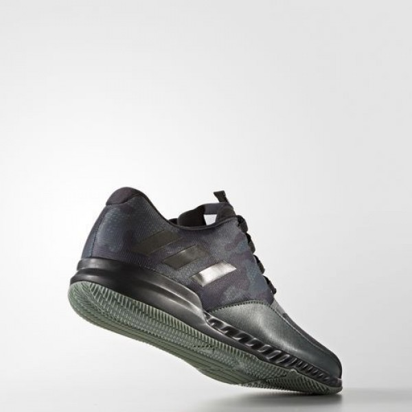 Adidas Crazytrain Bounce Homme Utility Ivy/Core Black/Trace Green Training Chaussures NO: BA9004