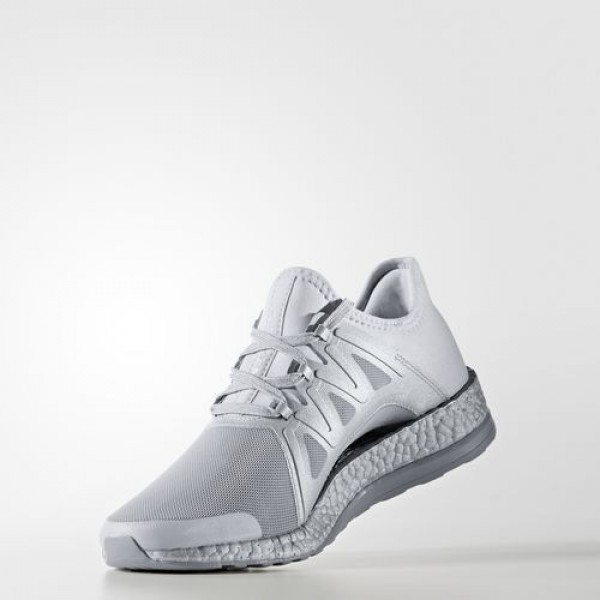 Adidas Pure Boost Xpose Femme Clear Grey/Footwear White/Mid Grey Running Chaussures NO: S82066