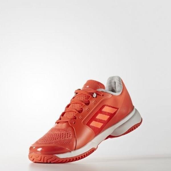 Adidas By Stella Mccartney Barricade 2017 Femme Blaze Orange/Footwear White/Solar Red by Stella McCartney Chaussures NO: AQ6296