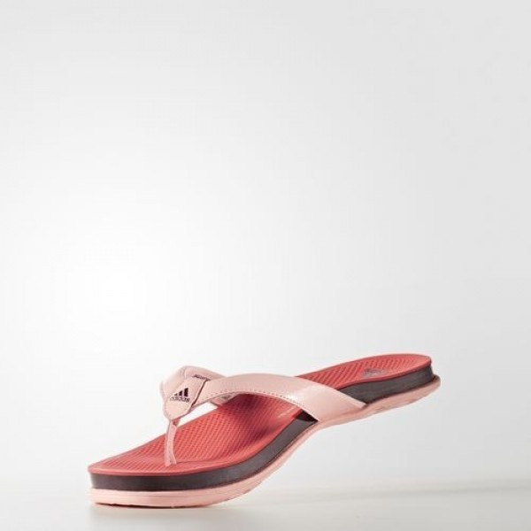 Adidas Tong Supercloud Plus Femme Easy Coral/Maroon/Haze Coral Natation Chaussures NO: BA8827