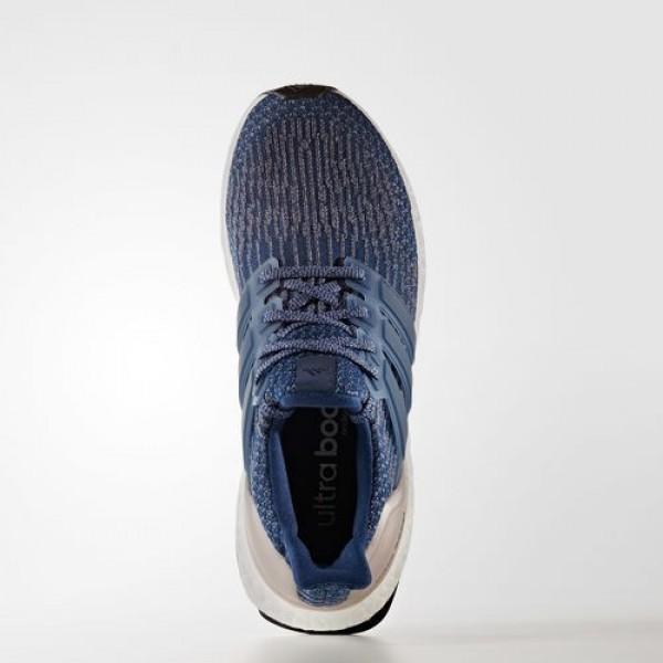 Adidas Ultra Boost Femme Mystery Blue/Vapour Grey Metallic Running Chaussures NO: BA8928