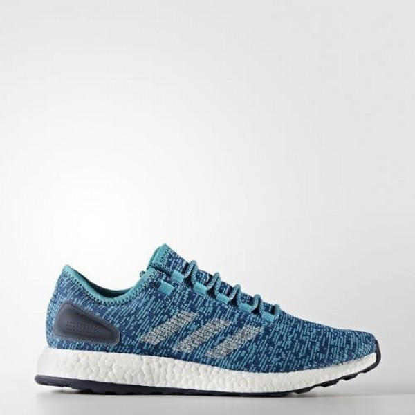 Adidas Pure Boost Clima Homme Energy Blue/Linen/Co...