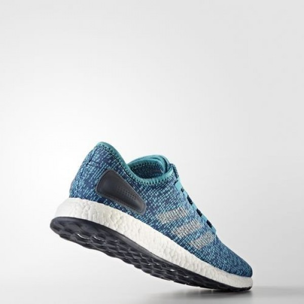 Adidas Pure Boost Clima Homme Energy Blue/Linen/Core Blue Running Chaussures NO: BA9056