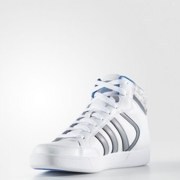 Adidas Varial Mid Homme Footwear White/Grey/Bluebird Originals Chaussures NO: BB8767