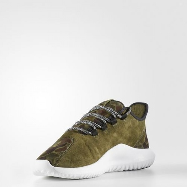 Adidas Tubular Shadow Homme Olive Cargo/Vintage White/Core Black Originals Chaussures NO: BB8818