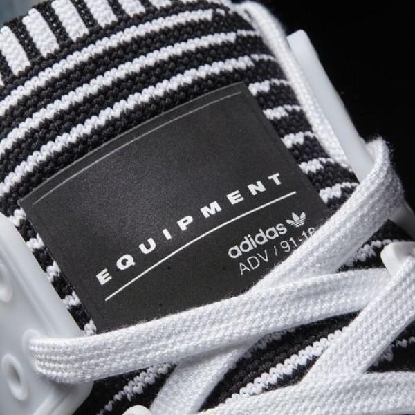 Adidas Eqt Support Adv Primeknit Femme Footwear White/Turbo Originals Chaussures NO: BA7496