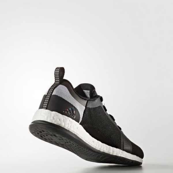 Adidas Pure Boost X Trainer 2.0 Femme Core Black/Silver Metallic/Footwear White Training Chaussures NO: BB0699