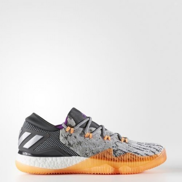 Adidas Crazylight Boost Low 2016 Homme Medium Grey...