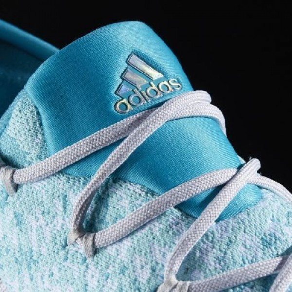 Adidas Crazylight Boost Low 2016 Homme Clear Aqua/Footwear White/Energy Blue Basketball Chaussures NO: BB8178