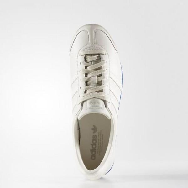 Adidas Samoa Vintage Homme Chalk White/Blue Originals Chaussures NO: BB8598
