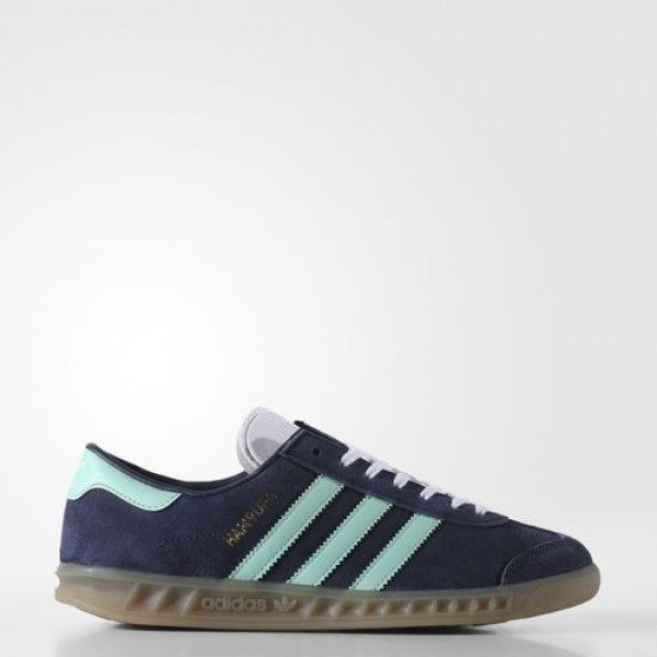 Adidas Hamburg Femme Midnight Grey/Easy Green/Gum ...