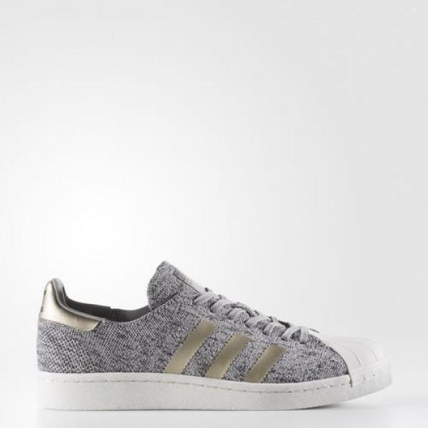 Adidas Primeknit Superstar Boost Femme Lgh Solid G...